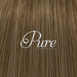 #8 - LIGHT CHESTNUT BROWN HAIR - 200 GRAMS THICK VIRGIN CLIP-IN HAIR EXTENSIONS - Pure Tape Hair Extensions