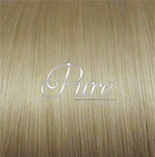 #16 - CARAMEL WHEAT BLONDE  - MEDIUM BLONDE -ULTIMATE CLIP-IN - LUXURY RUSSIAN GRADE - Pure Tape Hair Extensions