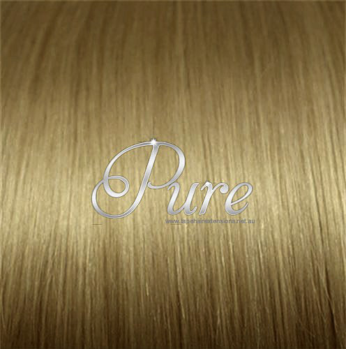 WRAP PONYTAIL HAIR EXTENSION #14 - BUTTERSCOTCH BLONDE - MEDIUM CARAMEL BLONDE - Pure Tape Hair Extensions