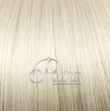 "#613 ""VANILLA BLONDE - LIGHT GOLDEN BLONDE WEFT / WEAVE HAIR EXTENSIONS - Pure Tape Hair Extensions"