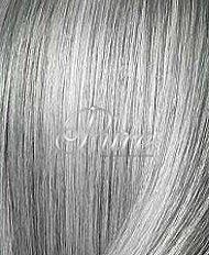 #SILVER LIGHT GREY METALLIC SILVER CLIP-IN HAIR EXTENSIONS - Pure Tape Hair Extensions