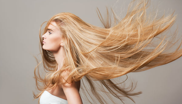 #12/613 DEEP CARAMEL BLONDE & LIGHT BLONDE HIGHLIGHTED ULTIMATE CLIP IN HAIR EXTENSIONS - Pure Tape Hair Extensions