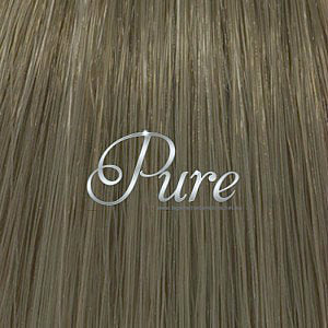 FLIP IN HALO HAIR EXTENSIONS #10 - LIGHT ASH BROWN HAIR - Pure Tape Hair Extensions