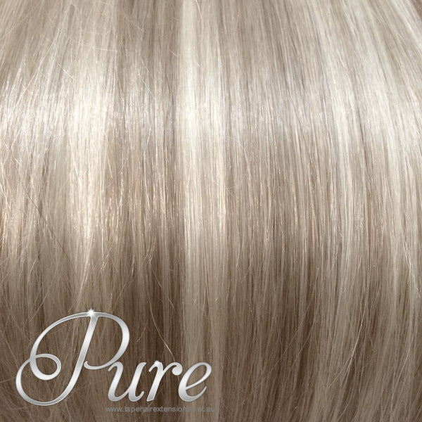 #18/613 LIGHT BLONDE & DARK ASH BLONDE KERATIN HAIR EXTENSIONS - Pure Tape Hair Extensions