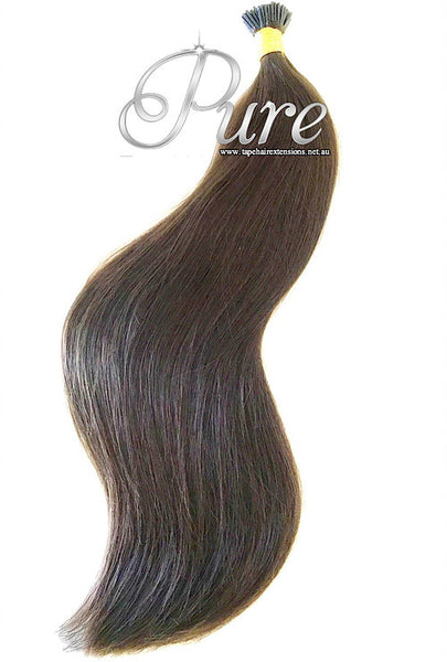 #4 WARM COCOA BROWN MICRO BEAD HAIR EXTENSIONS