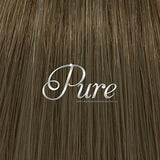 NAIL TIP / KERATIN HAIR EXTENSIONS #6 - MAPLE BROWN - LIGHT WARM BROWN - Pure Tape Hair Extensions