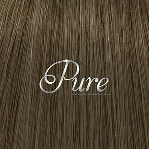 "#6 ""MAPLE BROWN"" LIGHT BROWN KERATIN HAIR EXTENSIONS - Pure Tape Hair Extensions"