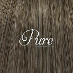 #10 LIGHT ASH BROWN KERATIN BOND HAIR EXTENSIONS - Pure Tape Hair Extensions