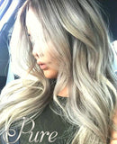 #18/613 BLONDE FOILED KERATIN HAIR EXTENSIONS