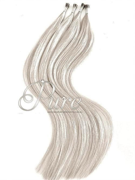 MICRO-BEAD / I TIP / STICK TIP #CREAMY BLONDE - LIGHT CREAM BLONDE - Pure Tape Hair Extensions