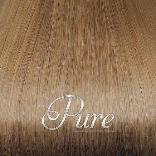 "ULTIMATE CLIP IN #12 - Salted Caramel - Rich Caramel Blonde - 200 Grams 20-22"" - Pure Tape Hair Extensions"