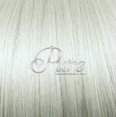 MICRO - BEAD HAIR EXTENSIONS #60A ICEY BLONDE - PLATINUM ASH BLONDE - Pure Tape Hair Extensions