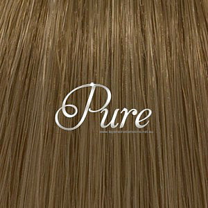 MICRO - BEAD HAIR EXTENSIONS #8 - LIGHT CHESTNUT BROWN HAIR - Pure Tape Hair Extensions