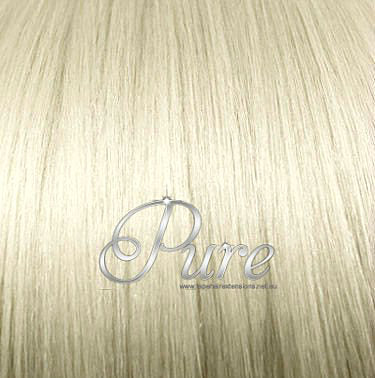 #613  LIGHT GOLDEN BLONDE MICRO BEAD HAIR EXTENSIONS - Pure Tape Hair Extensions