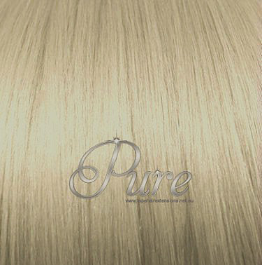 #22  - CHAMPAIGN BLONDE - MEDIUM  WARM BLONDE -WEFT / WEAVE RUSSIAN GRADE LUXURY - Pure Tape Hair Extensions