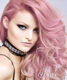 #Bubblegum Blonde - Invisible Luxury Seamless Skin Weft Tape-In Hair Extensions - Pure Tape Hair Extensions