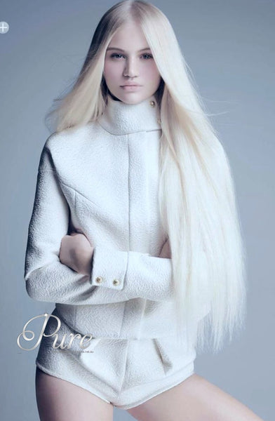 #60 PLATINUM BLONDE TAPE HAIR EXTENSIONS LUXURY RUSSIAN GRADE - Pure Tape Hair Extensions