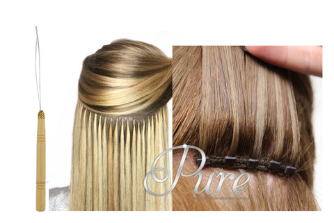 Micro Bead Hair Extensions Threader Tool - Pure Tape Hair Extensions