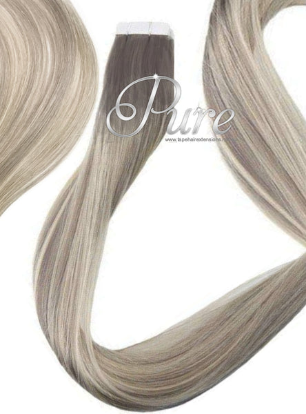 "#18/60/18 ""ICONIC BLONDE"" DARK BLONDE TO LIGHT BLONDE HAIR EXTENSIONS."