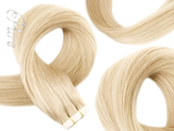 #24 BUTTER BLONDE TAPE HAIR EXTENSIONS