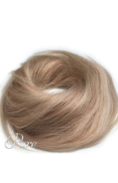#16/613- Booster Volume Bun - 100% human hair scrunchie bun - Pure Tape Hair Extensions