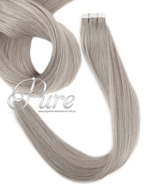 #20 MEDIUM ASH BLONDE TAPE HAIR EXTENSIONS - Pure Tape Hair Extensions