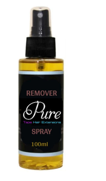 Hair Extensions Removal Spray - Pure Tape Hair Extensions