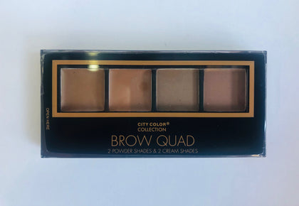 City Color Brow Quad (Sombras para párpados)
