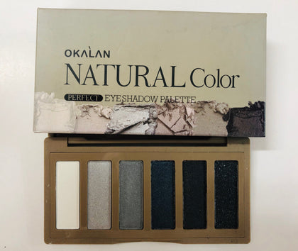 Okalan Natural Color Sombras (6 tonos)