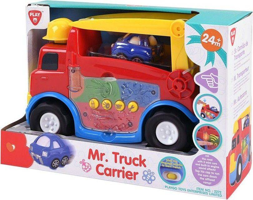 Mr- Truck  Carrier -Play Go