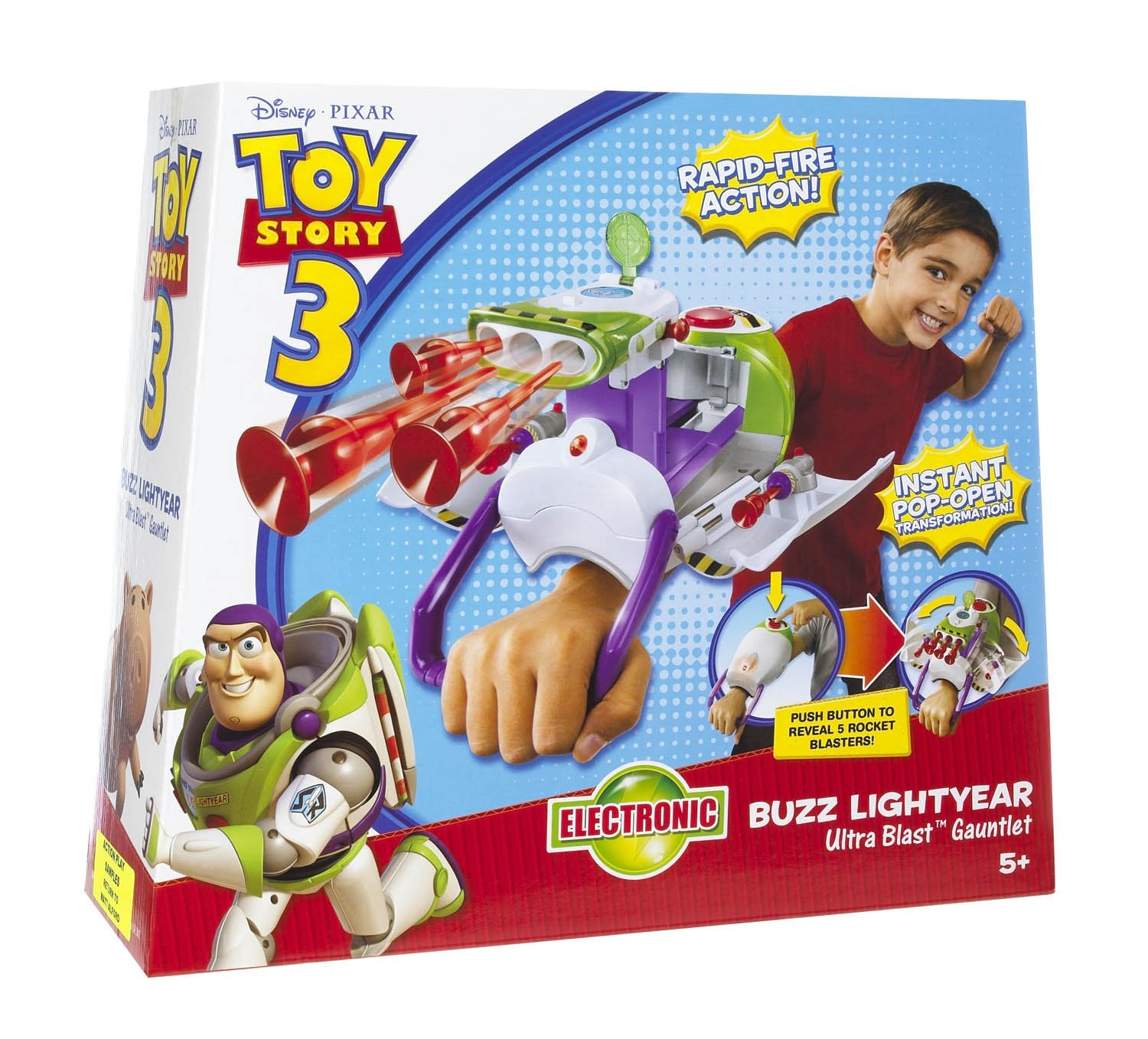Toy story Buzz lightyear ultra blast gauntlet