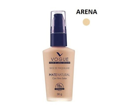 vogue base liquida mate natural