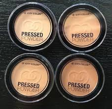 City Color Pressed Powder