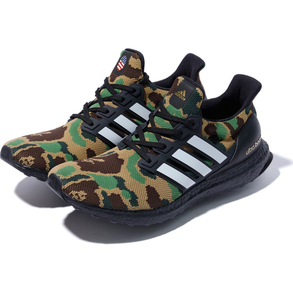 c53e222966c BAPE x ADIDAS ULTRA BOOST LIMITED EDITION (GREEN) – MY WEAR STORES