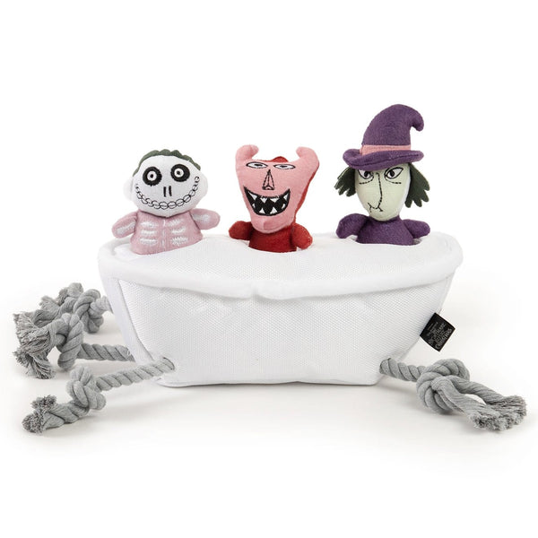 Disney Nightmare Before Christmas Lock, Shock, and Barrel Bathtub Kids Chew Toy