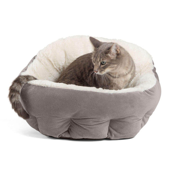 OrthoComfort Deep Dish Cuddler - Cats - Ilan Fabric (Size: Standard) 1