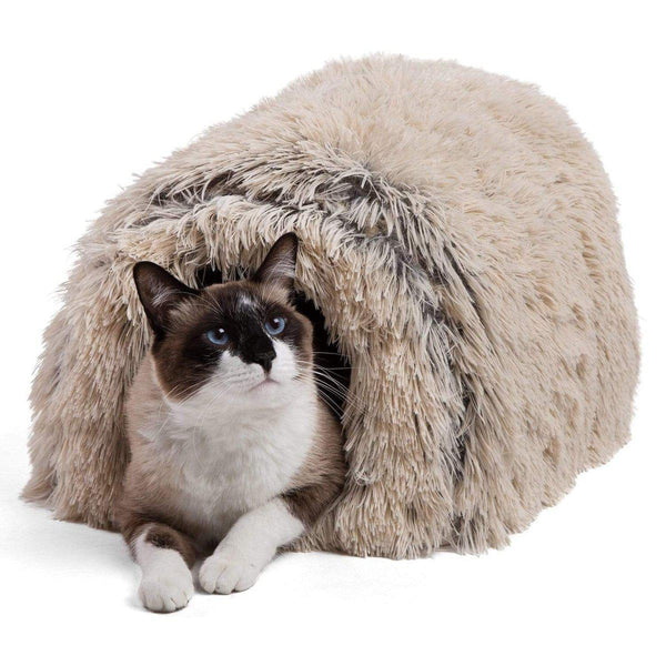 Igloo Shag Fur Hut