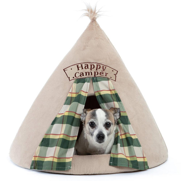 Happy Camper Novelty Pet Hut