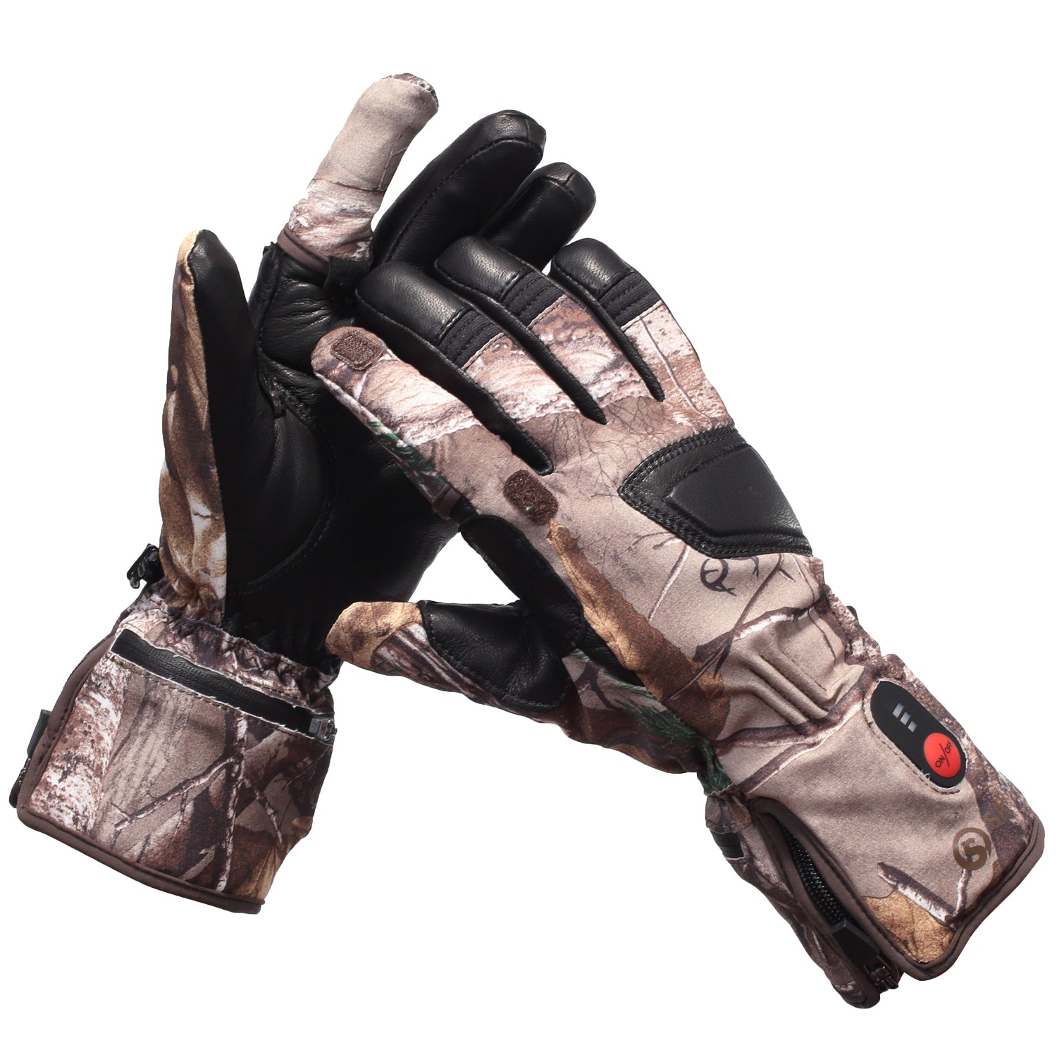 Outdoor Sports Winter Ski Thermal Insulation Camouflage Waterproof Gloves