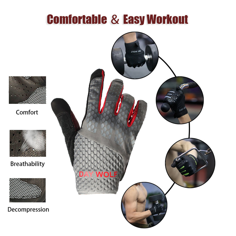 Fitness Gloves - Day Wolf