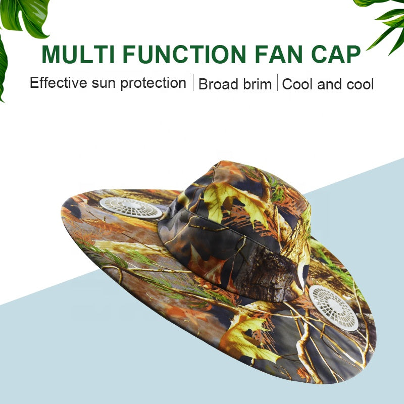 Air Conditional Cooling Fan Hats |Savior