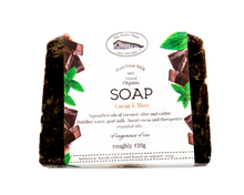 Load image into Gallery viewer, Goat Milk Soap -  Cocao & Mint