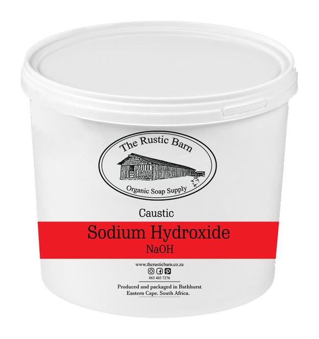 Lye - Sodium Hydroxide - The Rustic Barn