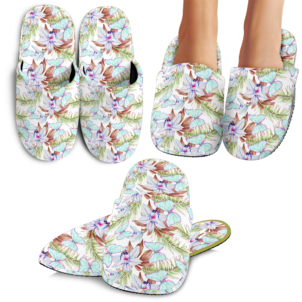 Colorful Butterflies Slippers PT010