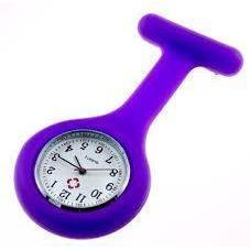 Paramedic Shop Add-Tech Pty Ltd Instrument Purple Nurses Fob Watch