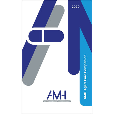Paramedic Shop Australian Medicines Handbook Pty Ltd Textbooks AMH Aged Care Companion 2020