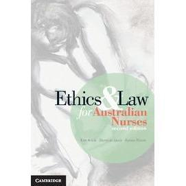 Paramedic Shop Cambridge University Press Textbooks Ethics and Law for Australian Nurses 2e