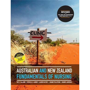 Paramedic Shop Cengage Learning Textbooks Australian & New Zealand Fundamentals of Nursing - Revised