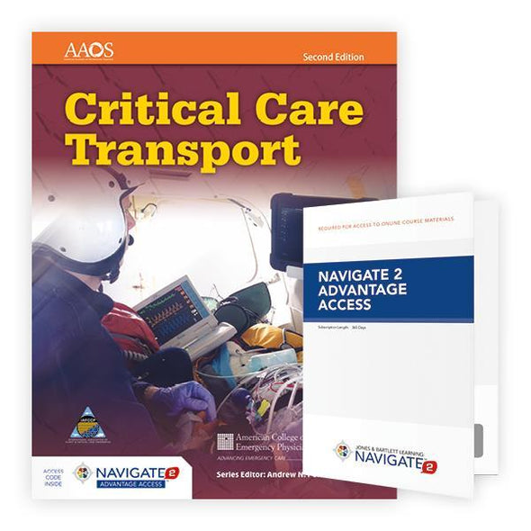Critical Care Transport - 2nd Edition Advantage Access