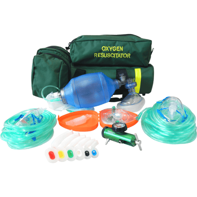 Paramedic Shop Add-Tech Pty Ltd Instrument Deluxe Oxygen Therapy Kit with Bag Resuscitator